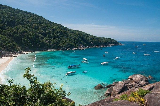 immagine spiaggia Thailandia